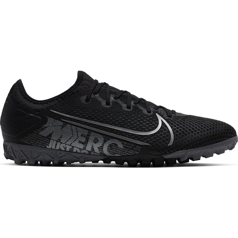 Buty piłkarskie Nike Mercurial Vapor 13 Pro Tf AT8004 001 czarne czarne