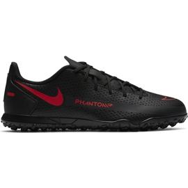 Buty piłkarskie Nike Jr Phantom Gt Club Tf CK8483 060 czarne czarne