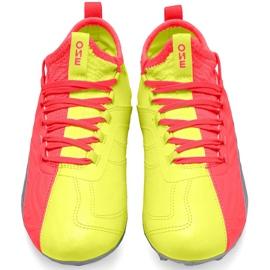 Buty piłkarskie dla dzieci Puma One 20.3 Osg Fg Ag 105972 01 czerwone