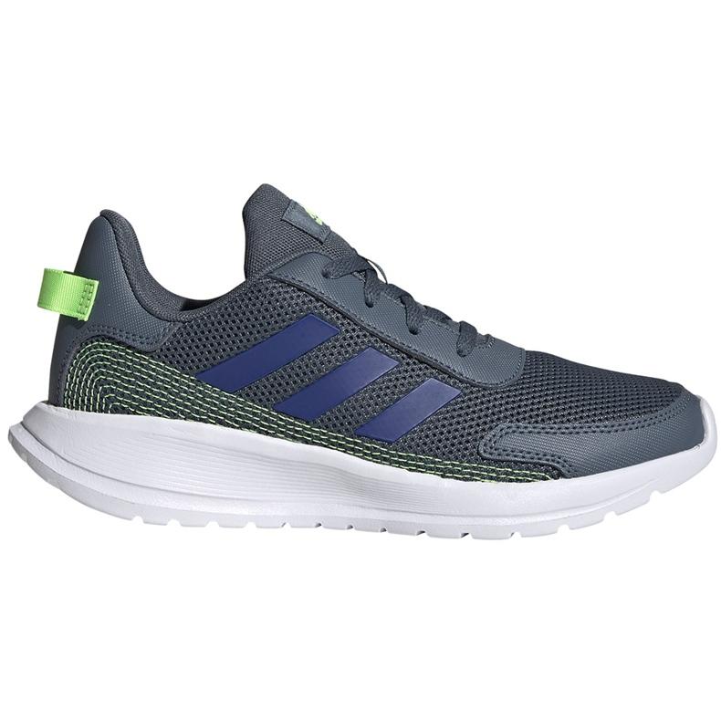 Buty dla dzieci adidas Tensaur Run K szare FV9444