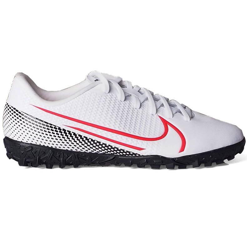 Buty piłkarskie Nike Mercurial Vapor 13 Academy Tf Junior AT8145 160 wielokolorowe białe