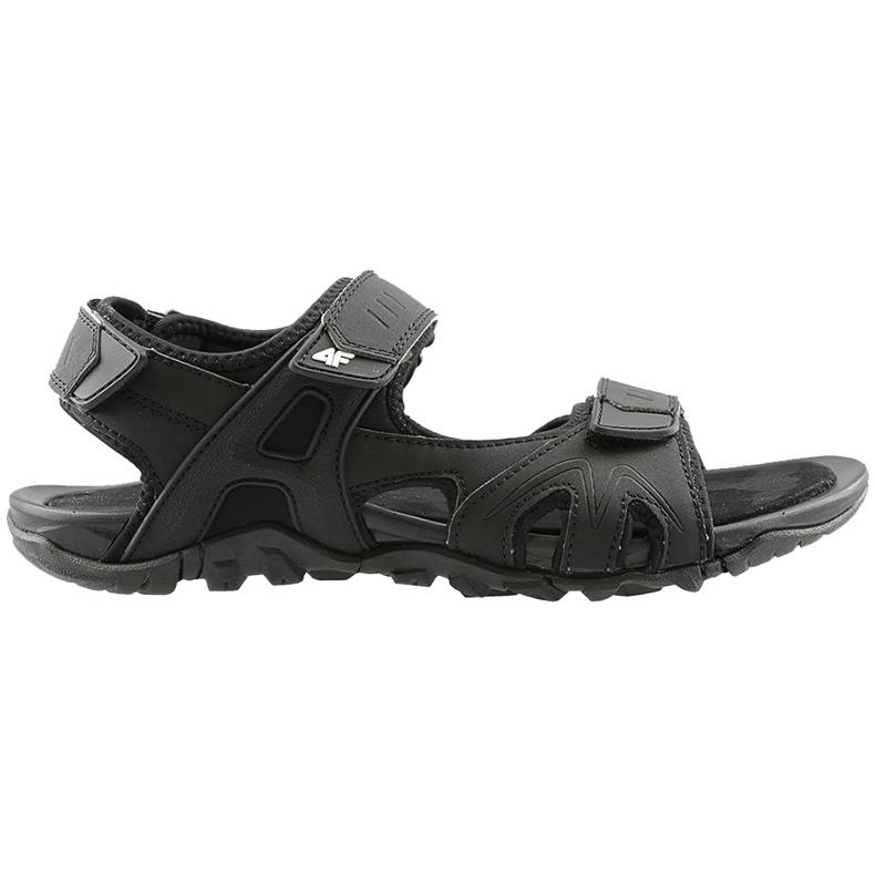 Sandały męskie 4F głęboka czerń H4L20 SAM002 20S czarne
