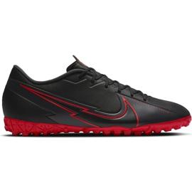 Buty piłkarskie Nike Mercurial Vapor 13 Academy Tf AT7996 060 czarne czarne