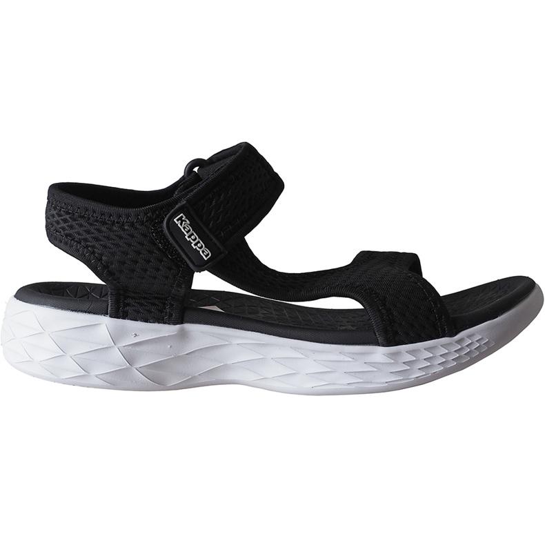 Sandały damskie Kappa Vedity Ii czarno-białe 242811 1110 czarne