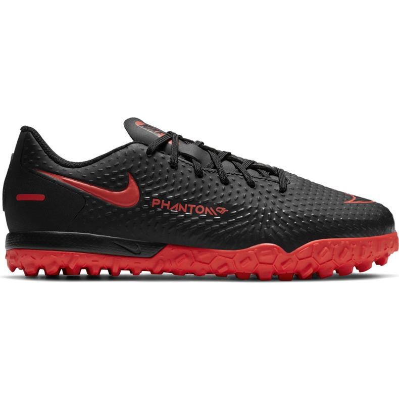 Buty piłkarskie Nike Jr Phantom Gt Academy Tf CK8484 060 czarne czarne