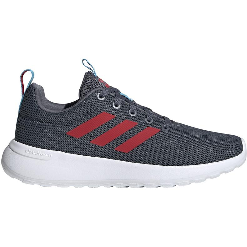 Buty dla dzieci adidas Lite Racer Cln K szare EG3050