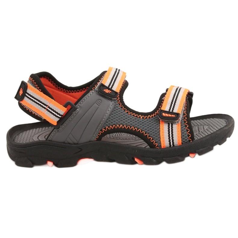 Sandały dla chłopca 4F multikolor HJL20 JSAM003 90S szare