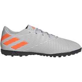 Buty piłkarskie adidas Nemeziz 19.4 Tf szare EF8294 wielokolorowe