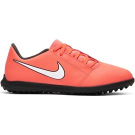 Buty piłkarskie Nike Phantom Venom Club Tf Jr AO0400 810 czerwone