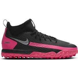 Buty piłkarsakie Nike Jr Phantom Gt Academy Df Tf CW6695 006 czarne czarne