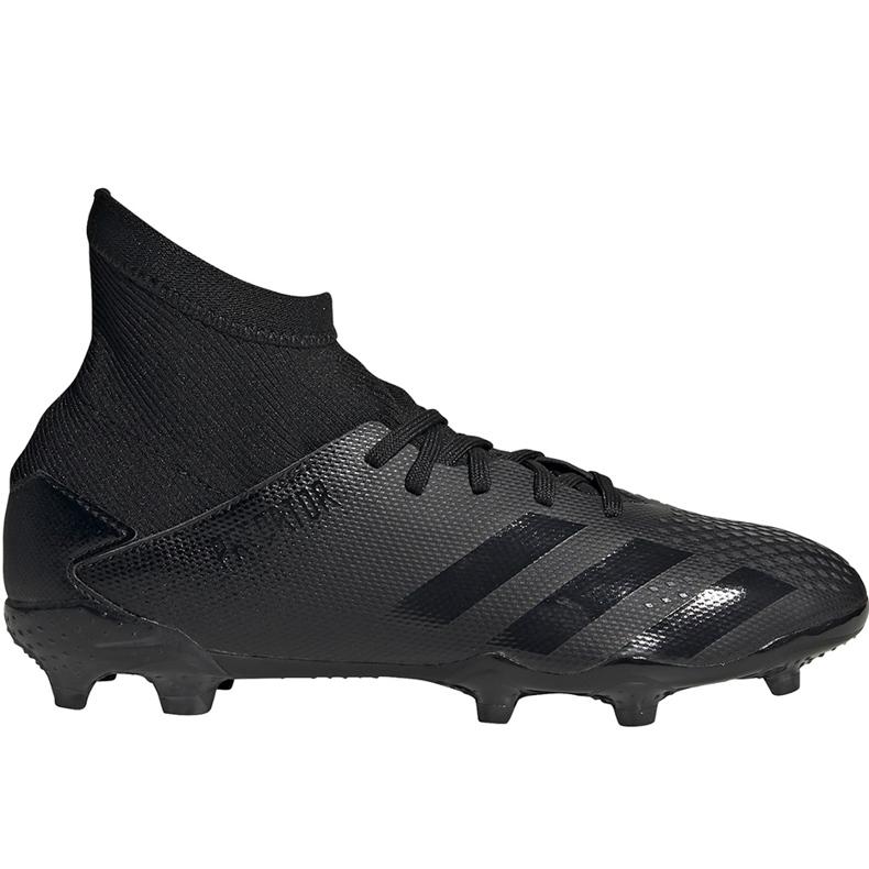Buty piłkarskie adidas Predator 20.3 Fg Junior EF1929 czarne czarne