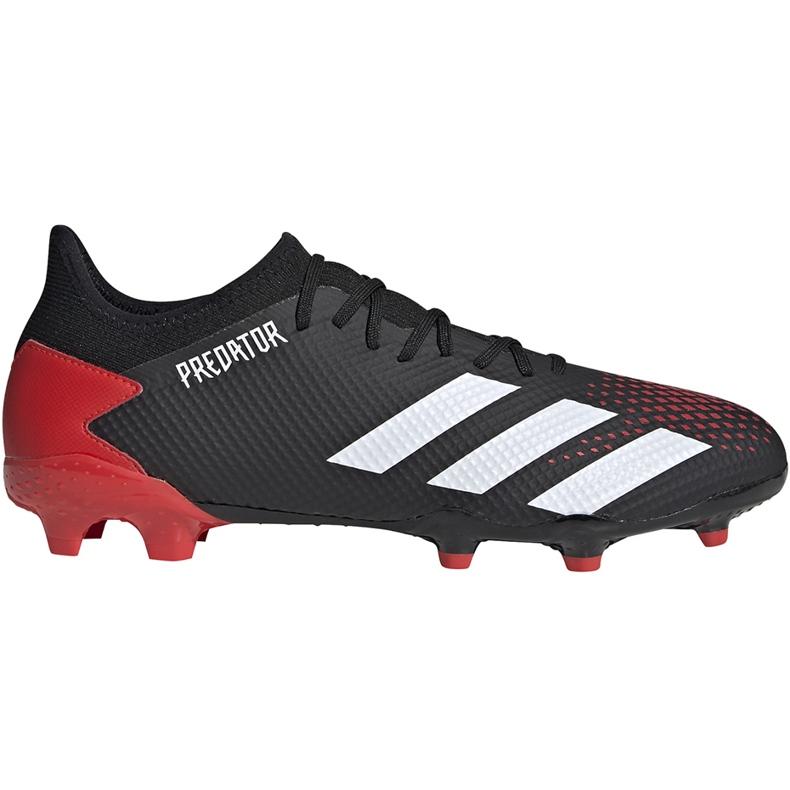 Buty piłkarskie adidas Predator 20.3 L Fg czarne EE9556 wielokolorowe