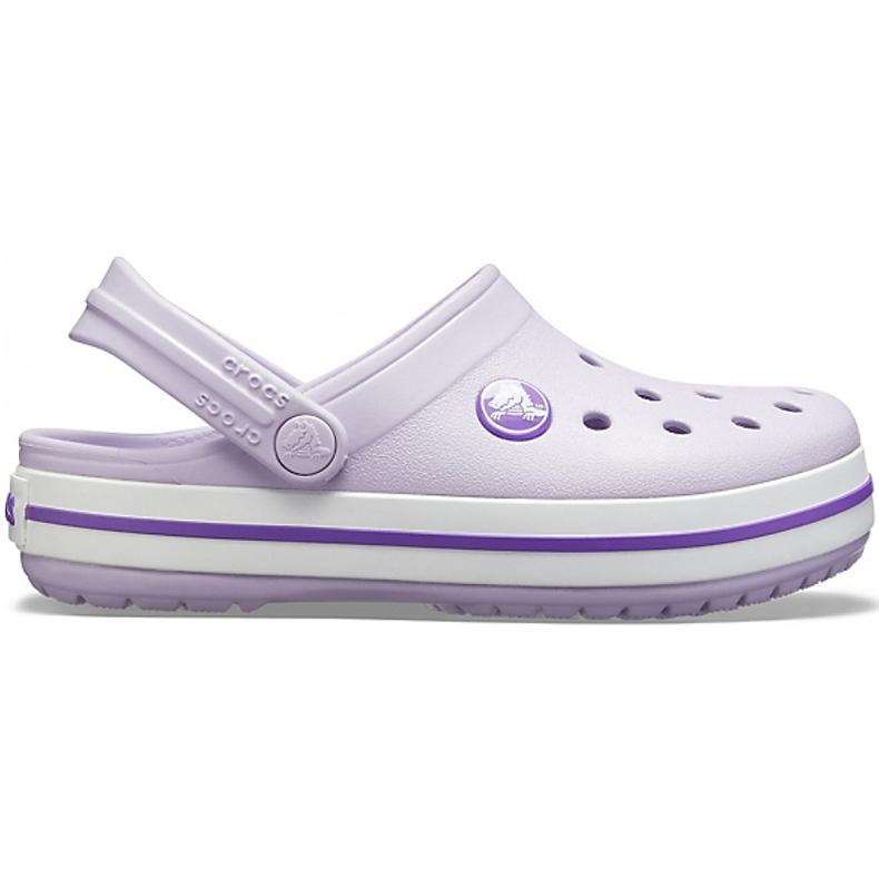 Crocs dla dzieci Crocband Clog K fioletowe 204537 5P8