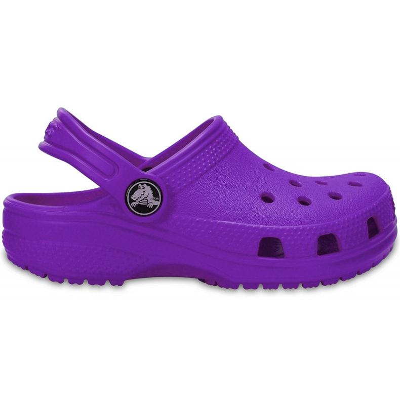 Crocs dla dzieci Crocband Classic Clog K Kids fioletowe 204536 57H