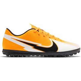 Buty piłkarskie Nike Mercurial Vapor 13 Club Tf AT7999 801 pomarańczowe pomarańczowe