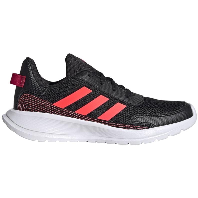 Buty dla dzieci adidas Tensaur Run K czarne FV9445