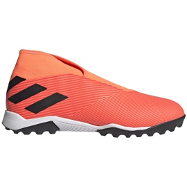 Buty piłkarskie adidas Nemeziz 19.3 Ll Tf pomarańczowe EH0277