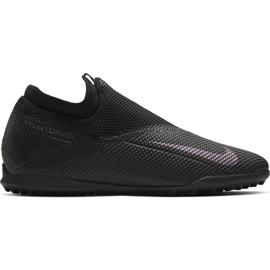Buty piłkarskie Nike Phantom Vsn 2 Academy Df Tf CD4172 010 czarne czarne