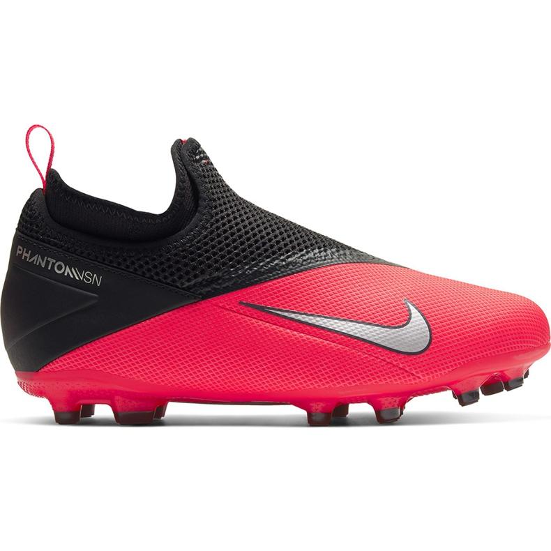 Buty piłkarskie Nike Phantom Vsn 2 Academy Df FG/MG Junior CD4059 606 czerwone wielokolorowe