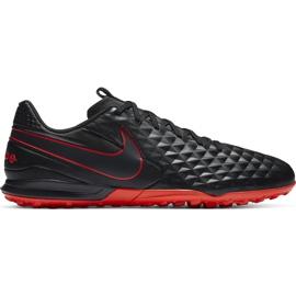 Buty piłkarskie Nike Tiempo Legend 8 Academy Tf AT6100 060 czarne czarne