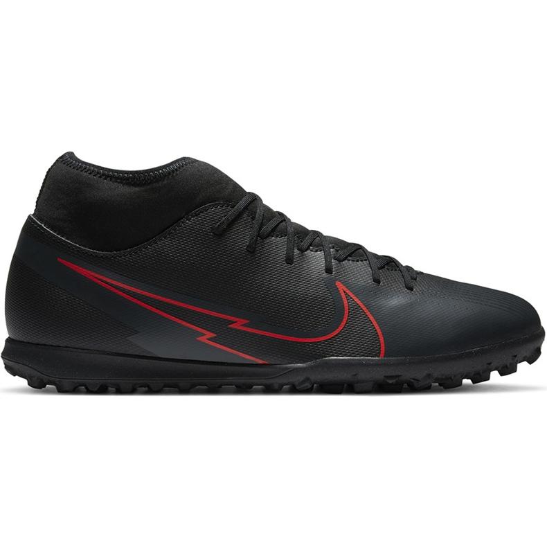 Buty piłkarskie Nike Mercurial Superfly 7 Club Tf AT7980 060 czarne czarne