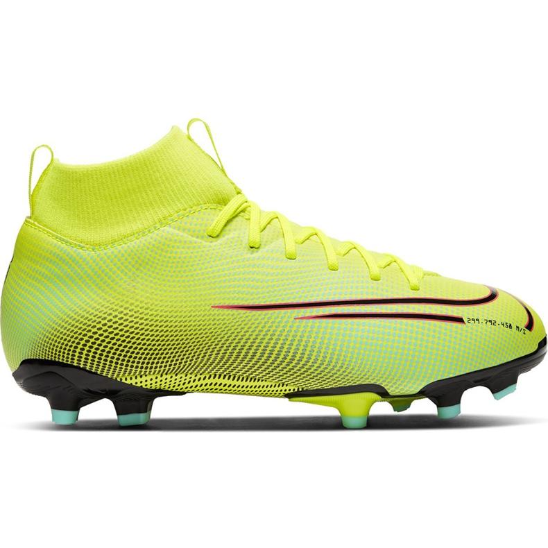 Buty piłkarskie Nike Mercurial Superfly 7 Academy Mds FG/MG Junior BQ5409 703 żółte żółte