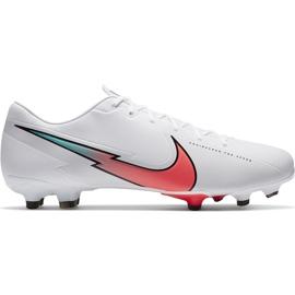 Buty piłkarskie Nike Mercurial Vapor 13 Academy FG/MG AT5269 163 białe białe
