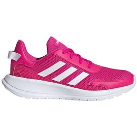 Buty dla dzieci adidas Tensaur Run K różowo-białe EG4126 różowe