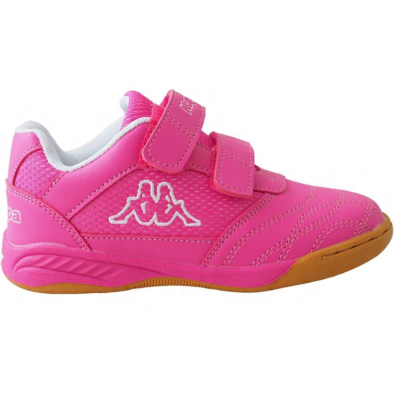Buty dla dzieci Kappa Kickoff Oc K różowo-białe 260695K 2210 różowe różowe