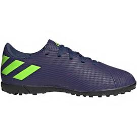 Buty piłkarskie adidas Nemeziz Messi 19.4 Tf EF1805 granatowe granatowe