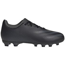 Buty piłkarskie adidas X GHOSTED.4 FxG Junior FW3546 czarne czarne