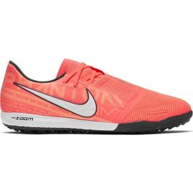 Buty piłkarskie Nike Zoom Phantom Venom Pro Tf BQ7497 810 różowe pomarańczowe