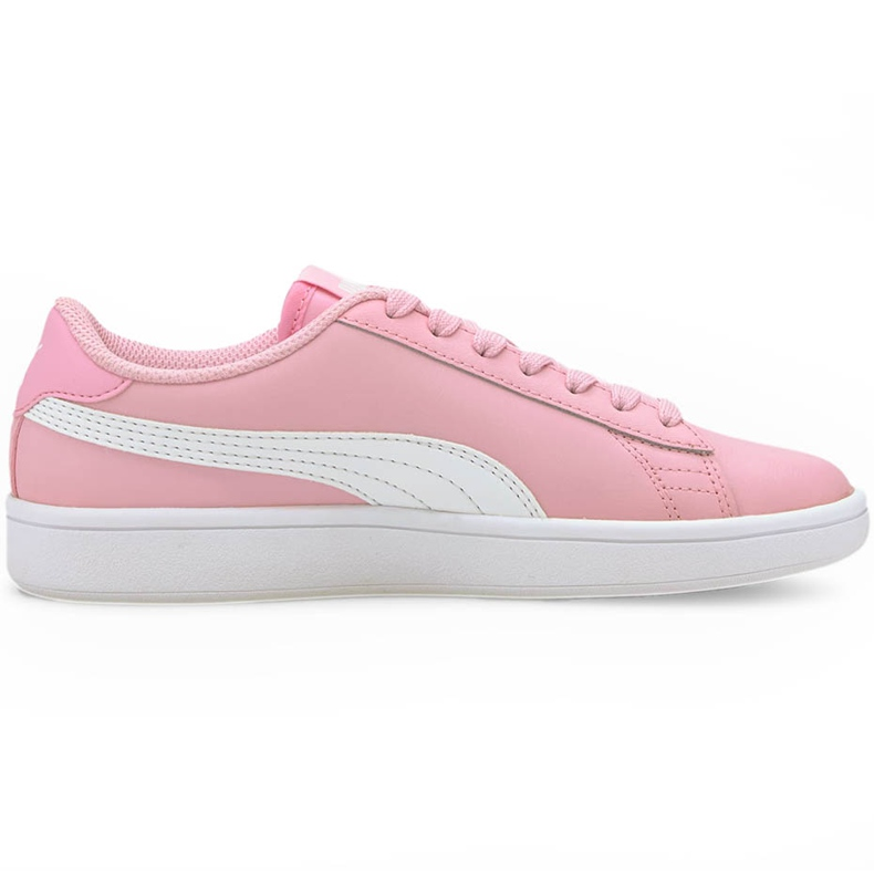 Buty dla dzieci Puma Smash v2 L Jr różowe 365170 24