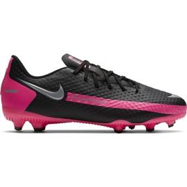 Buty piłkarskie Nike Phantom Gt Academy FG/MG Junior CK8476 006 czarne czarne