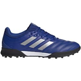 Buty piłkarskie adidas Copa 20.3 Tf niebieskie EH1490