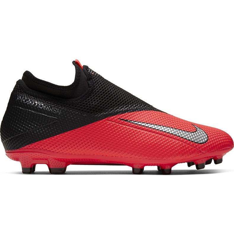 Buty piłkarskie Nike Phantom Vsn 2 Academy Df FG/MG CD4156 606 czerwone czerwone