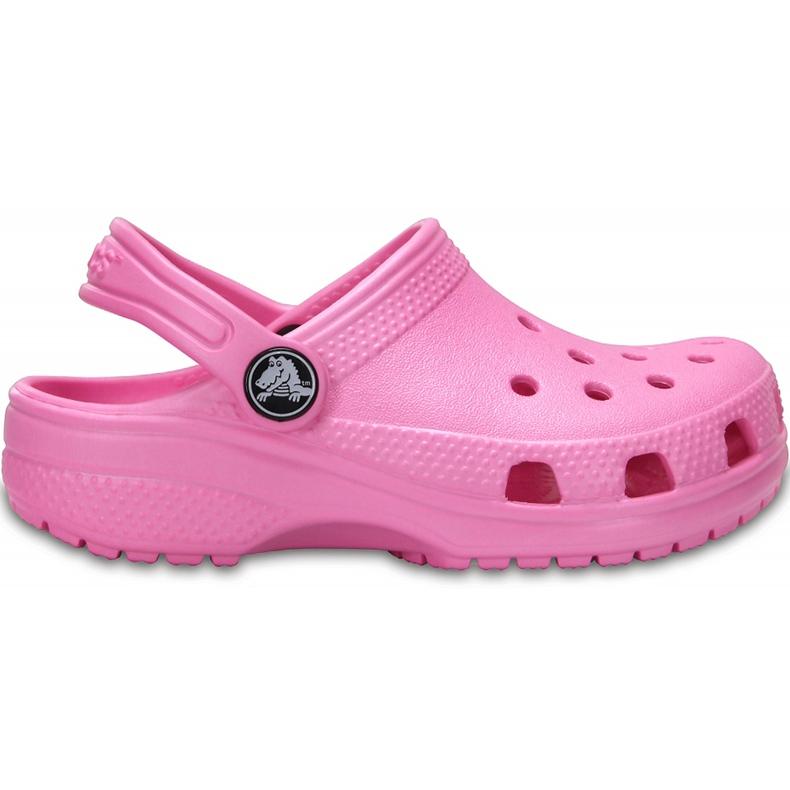 Crocs dla dzieci Crocband Classic Clog K Kids różowe 204536 6I2