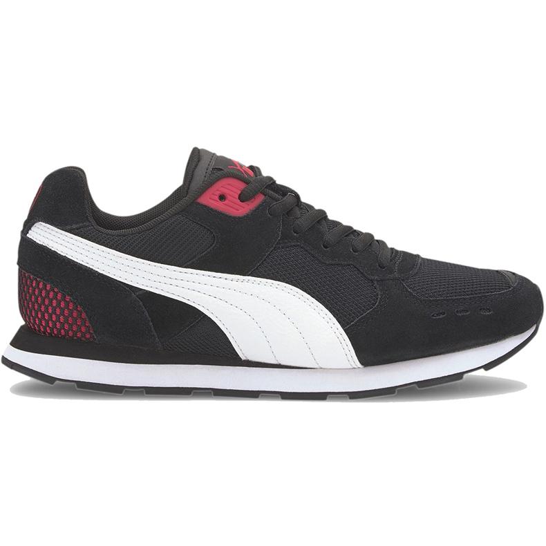 Buty Puma Vista czarno-biało-czerwone 369365 12 białe czarne
