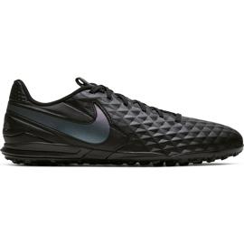 Buty piłkarskie Nike Tiempo Legend 8 Academy Tf AT6100 010 czarne czarne