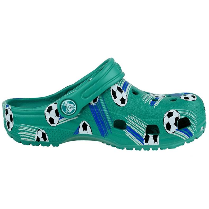 Crocs dla dzieci Classic Sport Ball Clog Ps zielone 206417 3TJ