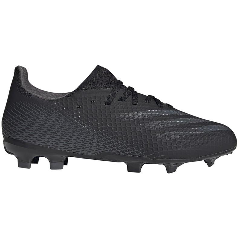 Buty piłkarskie adidas X GHOSTED.3 Fg Junior FW3545 czarne czarne
