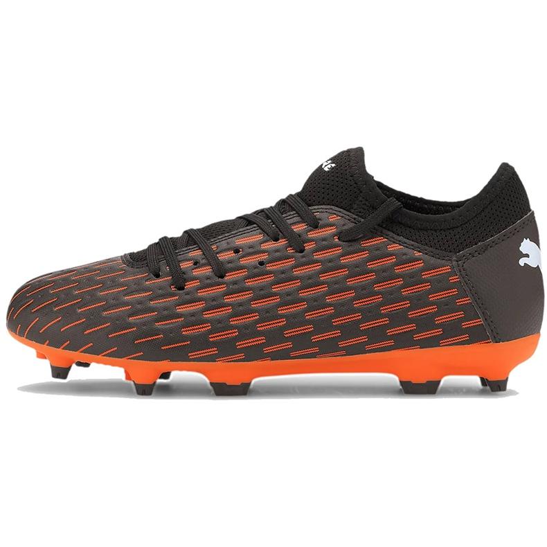 Buty piłkarskie Puma Future 6.4 Fg Ag Junior 106206 01 pomarańczowe