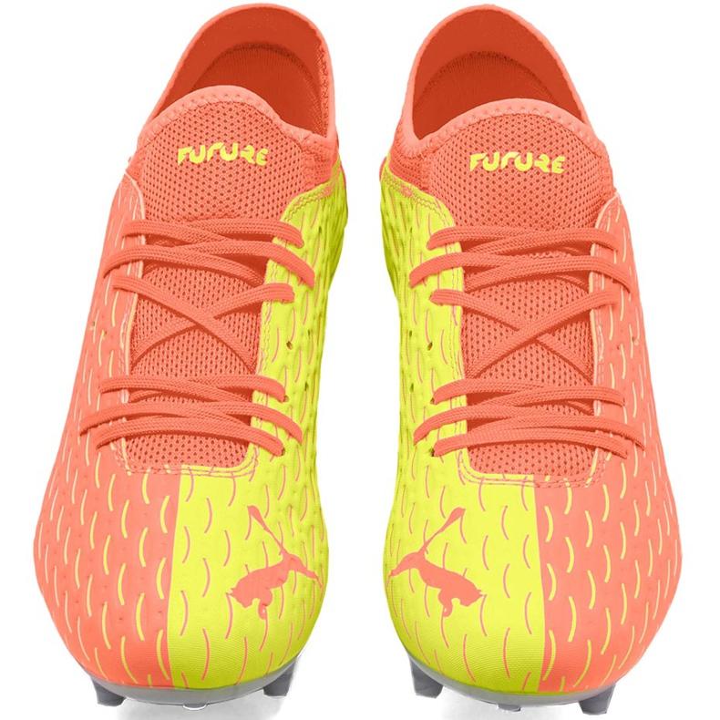 Buty piłkarskie Puma Future 5.4 Osg Fg Ag 105941 01 pomarańczowe pomarańczowe