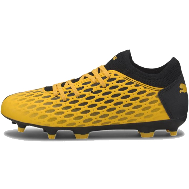 Buty piłkarskie Puma Future 5.4 Fg Ag Junior 105810 03 żółte żółte