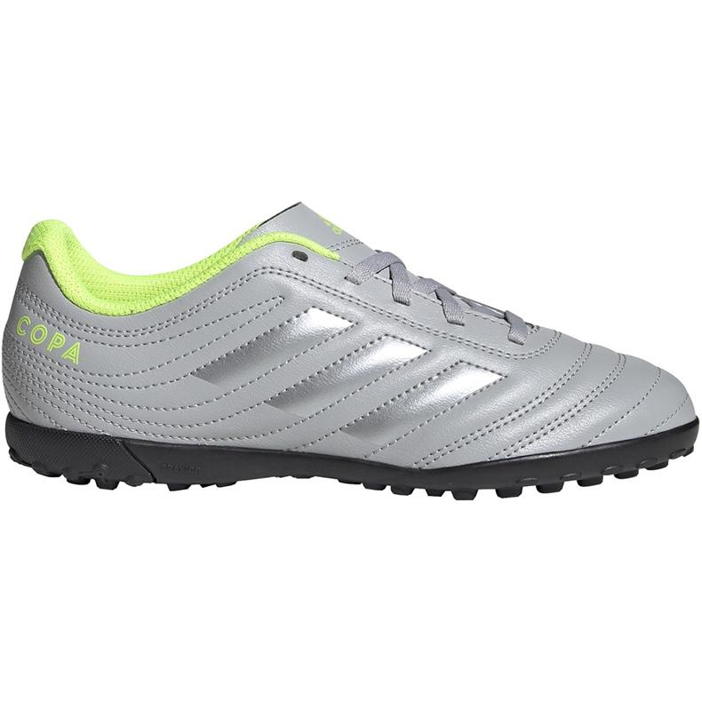 Buty piłkarskie adidas Copa 20.4 Tf Jr EF8359 szare szare