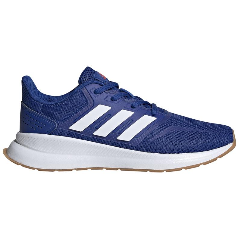Buty dla dzieci adidas Runfalcon K niebieskie FV8838