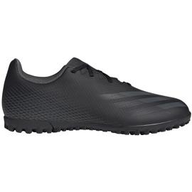 Buty piłkarskie adidas X GHOSTED.4 Tf EG8236 czarne czarne