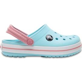 Crocs dla dzieci Crocband Clog K jasny niebieski 204537 4S3 niebieskie
