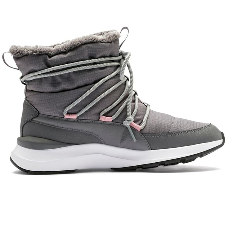 Buty damskie Puma Adela Winter Boot szare 369862 03