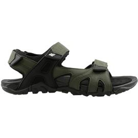 Sandały męskie 4F khaki H4L20 SAM002 43S zielone